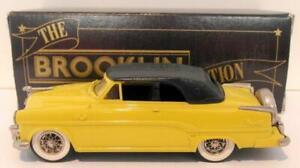 Brooklin 1/43 Scale BRK30  001  - 1954 Dodge Royal 500 Convertible Yellow/Black