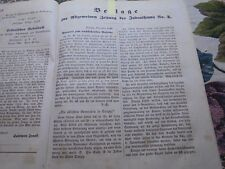 1841 Newspaper Jews 2/Danzig Rabbi Horwitz... only the leaflet 4 pages