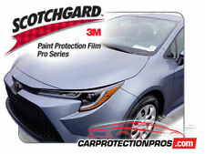 2020 Toyota Corolla SE XSE 3M Pro Series Clear Bra Bumper Paint Protection Kit