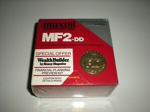 3.5 in. DSDD DS unformatted floppy disks. Double sided double density MF2-DD new