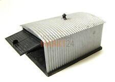 Schuppen Garage Wellblech Details Spur H0 1:87 Maße 10 x 6,5 x 5cm