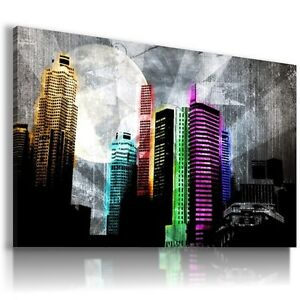 NEW YORK CITY ARCHITECTURE Canvas Wall Art Abstract Picture AB329 MATAGA .