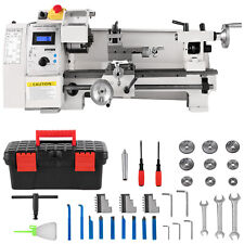 8'x14' Mini Metal Lathe Variable Speed 2250 Rpm 650W 110V Metalworking Machine