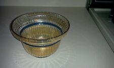 Vintage Amber Glass Bowl
