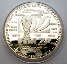 BULGARIA 10 levs 1982 12th World Football Cup Espania 82 Silver PLAYERS MINT