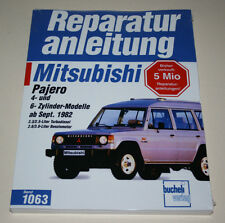 Reparaturanleitung Mitsubishi Pajero Typ L040 / 4- und 6-Zylinder Motor, ab 1982