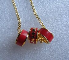 Marc by Marc Jacobs Necklace Sweetie Rings NEW $78