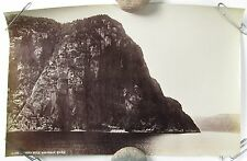 WILLIAM NOTMAN Albumen Photograph Trinity Rock Saguenay River Quebec C1880