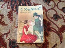 E. Frette & Co. Catalog 1928 (283 Pages) 1st Time on Ebay!!  Milano (Rare)