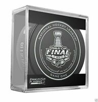 2014 NHL Stanley Cup Kings vs. Rangers Sherwood Official Game Puck #1 (One) NEW