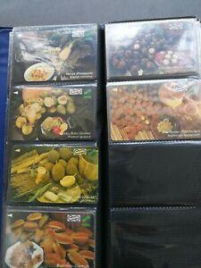 Local Fruits 2x$50 Malaysia Used Phone Card set