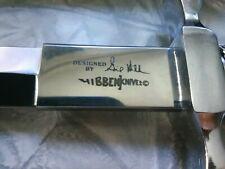 """GIL HIBBEN 12.75"""" United Cutlery Silver Shadow Dagger Knife Fixed Blade  UC441"""