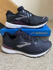 Pre-owned Women's Brooks Adrenaline GTS 20 Trainers/Shoes Black UK Sz. 8