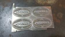 marmon guide super ray light bucket strap trim emblem trippe speedlight