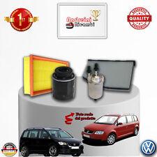 KIT TAGLIANDO 4 FILTRI VW TOURAN 1.4 TSI 103KW 140CV DAL 2006 -> 2010
