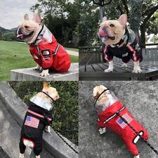 Pet Dog Reflective Raincoat Hooded Jumpsuit Waterproof Coat Outdoor The Face Hot