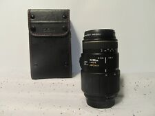 Sigma 70-300mm AF APO Macro Zoom Lens - For Canon Made in Japan