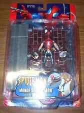 Spider-Man Manga with Wall Crawling Action Toy Biz Marvel McFarlane 2002