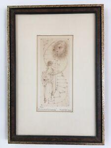 Hans Bellmer Original Etching Restrike for Madame Edwarda Germany 1912