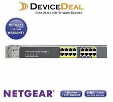 Netgear GS516TP ProSAFE 16-Port Gigabit PoE/PoE+ Smart Switch