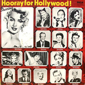 "Hooray for Hollywood 1930-50s UK RCA International vinyl record 12""33rpm LP (nm)"