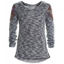 128GB Langarm Mädchen-Blusen mit klassischem Ausschnitt Größe
