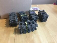 Lego used Train 9v track 50 curves for 4558 4563 4564 4511 Free postage in UK