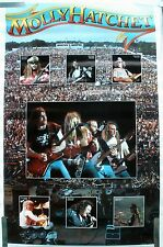 RARE MOLLY HATCHET 1980 VINTAGE ORIGINAL MUSIC POSTER
