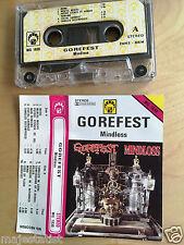 GOREFEST - Mindloss MC RARE 1'ST POLISH PRESS 1992