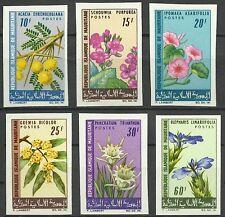 Mauritanie Flore Acacia Fleurs Flowers Blumen Flora Non Denteles Imperfs ** 1966