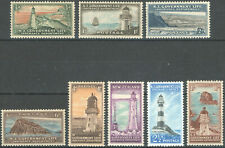 New Zealand 1947 KGVI Life Insurance Department set of mint stamps to 1s MNH