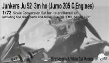 Junkers Ju 52/3m ho m. JUMO 205 C    1/72 Bird Models Mischbausatz / mixed kit