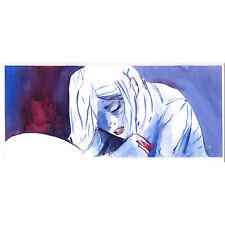 "A* 41 page 55 original watercolor comic art ""Lie Down"" Ben Chamberlain"
