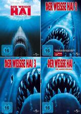 Der weisse Hai 1+2+3+4 Collection (Roy Scheider) # 4-DVD-SET-NEU
