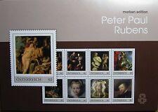 ME8 - Peter Paul Rubens - Markenedition Österreich 8W KB PM  2018**