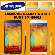 Samsung Galaxy Note 3 SM-N9002 16GB 13MP Dual SIM Active 3G Android Smartphone