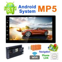 "7""Quad Core Android 8.1 WIFI Bluetooth 2DIN Car FM Radio Stereo MP5 GPS Player"