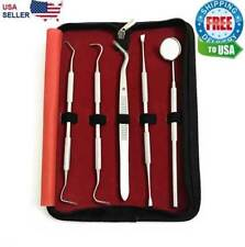Dental 5pcs Scaler Oral Hygeine Tools Deep Cleaning Professional Set Kit Teeth