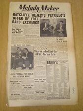 MELODY MAKER 1953 AUGUST 1 HARDIE RATCLIFFE ASTOR MECCA JUNE CHRISTY JAZZ SWING