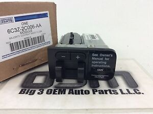 05-07 Ford F250 F350 Super Duty Dash Trailer Brake Controller Module Switch OEM