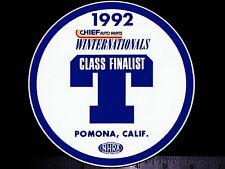 NHRA Winternationals Pomona, Calif. 1992 - Original Vintage Racing Decal/Sticker