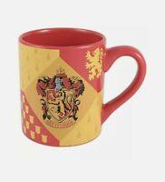 Harry Potter Gryffindor House Crest Ceramic Coffee Mug 14oz Wizarding World