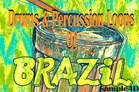 Brazil Drums Percussion Loops Conga Samba Reason FL Studio MPC Ableton Live