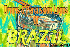Brazil Drums Percussion Loops Conga Samba Reason FL Studio MPC Ableton Live