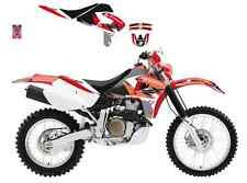 *** BLACKBIRD *** DREAM3 HONDA XR 650 '00>'09   kit grafiche + copertina sella