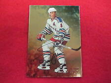 1998 Be A Player Adam Graves  GOLD  certified autograph hockey card signature