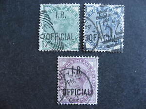 Great Britain QV IR Official used Sc O2-4 O2 has a thin, O3 pulled perf see pics