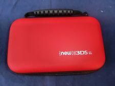 Nintendo 3DS XL / NEW 3DS XL/ DSi XL Schutzhülle Etui Tasche HardCase in ROT