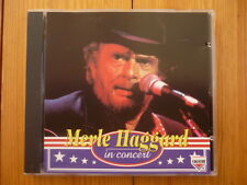 Merle Haggard In Concert / CHARLY HOLDINGS RECORDS CD 1995 RAR!