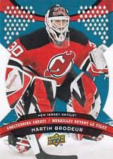 2009-10 UD McDONALD'S MARTIN BRODEUR GOALTENDING GREATS #GG6 09-10